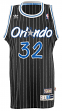 Shaquille O'Neal Orlando Magic Adidas NBA Throwback Swingman Jersey - Black