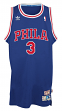 Allen Iverson Philadelphia 76ers Adidas NBA Throwback Swingman Jersey - Blue