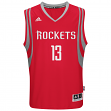 James Harden Houston Rockets Adidas NBA Swingman Jersey - Red