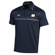 """Notre Dame Fighting Irish Under Armour 2014 Sideline """"Win It"""" Polo Shirt - Navy"""