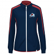 Colorado Avalanche Women's Majestic NHL Full Zip Lightweight Performance Jacket