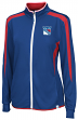 New York Rangers Women's Majestic NHL Full Zip Lightweight Performance Jacket