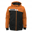 "Chicago Bears Youth NFL ""Resilient"" Full Zip Performance Sweatshirt"