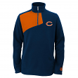 "Chicago Bears Youth NFL ""Flex"" 1/4 Zip Polar Fleece Sweatshirt"
