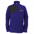 "Baltimore Ravens Youth NFL ""Flex"" 1/4 Zip Polar Fleece Sweatshirt"