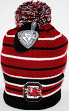 "South Carolina Gamecocks NCAA Top of the World ""Gnarly"" Cuffed Knit Hat with Pom"