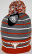 "Texas Longhorns NCAA Top of the World ""Gnarly"" Cuffed Knit Hat with Pom"