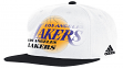 Los Angeles Lakers Adidas NBA 2014 Authentic On-Court Strap Back Hat