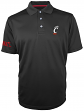 "Cincinnati Bearcats Majestic NCAA ""Turnover"" Performance Polo Shirt - Black"