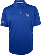 "Kentucky Wildcats Majestic NCAA ""Turnover"" Performance Polo Shirt - Blue"