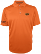 "Oklahoma State Cowboys Majestic NCAA ""Turnover"" Performance Polo Shirt - Orange"