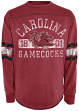 "South Carolina Gamecocks ""Quarterback Sneak"" Long Sleeve Distressed Shirt - Red"