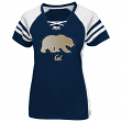 "California Golden Bears Women's Majestic NCAA ""Final Quarter"" Jersey Top Shirt"