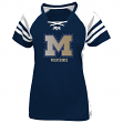 "Michigan Wolverines Women's Majestic NCAA ""Final Quarter"" Jersey Top Shirt"