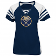 "Buffalo Sabres Women's Majestic NHL ""Magic Moment"" Jersey Top Shirt"