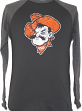 "Oklahoma State Cowboys Majestic ""Syllabus"" Long Sleeve Dual Blend Men's T-Shirt"