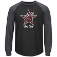 "Texas A&M Aggies Majestic ""Syllabus"" Long Sleeve Raglan Dual Blend Men's T-Shirt"