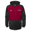 Miami Heat Youth Adidas NBA 2014 Pre Game On-Court Hooded Full Zip Sweatshirt