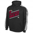 "Miami Heat Youth Adidas NBA ""Playbook Stripe"" Hooded Sweathshirt"