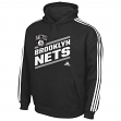 "Brooklyn Nets Youth Adidas NBA ""Playbook Stripe"" Hooded Sweathshirt"