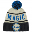 "Orlando Magic Mitchell & Ness NBA ""Oatmeal"" Cuffed Knit Hat w/ Pom"