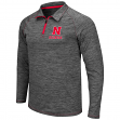 Nebraska Cornhuskers NCAA Granite 1/4 Zip Pullover Long Sleeve Shirt