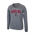 "South Carolina Gamecocks NCAA ""Slate"" Long Sleeve Slub Shirt - Charcoal"