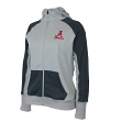 "Alabama Crimson Tide Women's NCAA ""Nordic"" Full Zip Hooded Jacket"