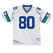 Steve Largent Seattle Seahawks Mitchell & Ness Throwback Premier Jersey - White