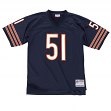 Dick Butkus Chicago Bears Mitchell & Ness NFL Throwback Premier Jersey - Navy