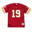 Joe Montana Kansas City Chiefs Mitchell & Ness Throwback Premier Jersey - Red