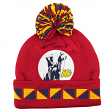 "Kansas City Scouts Mitchell & Ness NHL ""2 Face"" Cuffed Knit Hat w/ Pom"