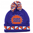 "Phoenix Suns Mitchell & Ness NBA Throwback ""2 Face"" Cuffed Knit Hat w/ Pom"