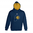 Indiana Pacers Youth Adidas NBA Team Color Pullover Hooded Sweatshirt