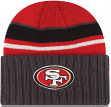 San Francisco 49ers New Era NFL Prep Class Cuffed Knit Hat