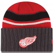 Detroit Red Wings New Era NHL Prep Class Cuffed Knit Hat