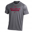 South Carolina Gamecocks Under Armour Men's Performance S/S Shirt - Charcoal