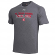Florida State Seminoles Under Armour NCAA Men's Performance S/S Shirt - Charcoal