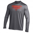 Virginia Tech Hokies Under Armour NCAA Men's Performance L/S Shirt - Charcoal