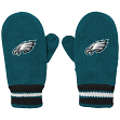 Philadelphia Eagles Youth NFL Team Logo Embroidered Mittens