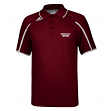 Mississippi State Bulldogs Adidas NCAA Sideline Climalite Polo Shirt - Maroon