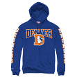 "Denver Broncos Mitchell & Ness NFL ""Sidebar"" Pullover Hooded Sweatshirt"