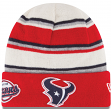 "Houston Texans New Era NFL ""Winter Tradition"" Cuffed Knit Hat"