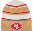 "San Francisco 49ers New Era NFL ""Winter Tradition"" Cuffed Knit Hat"