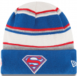 "Superman DC Comics New Era ""Winter Tradition"" Cuffed Premium Knit Hat"