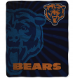 "Chicago Bears NFL ""Strobe"" 50""x60"" Sherpa Throw Blanket"