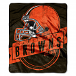 "Cleveland Browns NFL ""Grand Stand"" 50""x60"" Raschel Throw Plush Blanket"