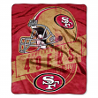 "San Francisco 49ers NFL ""Grand Stand"" 50""x60"" Raschel Throw Plush Blanket"