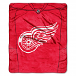 "Detroit Red Wings NHL ""Jersey"" 50""x60"" Raschel Throw Plush Blanket"