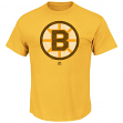 "Boston Bruins Majestic NHL ""Vintage Logo"" Men's Premium T-Shirt"